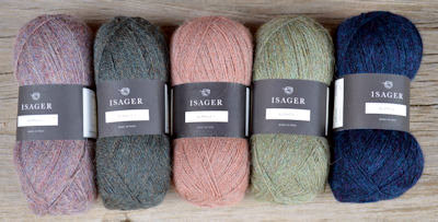 Isager Alpaca 1 Heather Collection