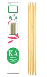 "KA 6"" Bamboo Double-Pointed"