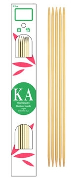 "KA 8"" Bamboo Double-Pointed"