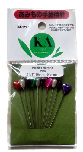 KA Knitting Marking Pins