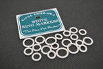 Bryson White Ring Markers - Pack of 20