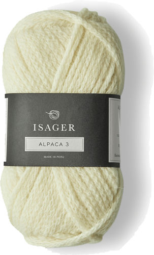 Isager Alpaca 3 - 0 (Natural White)