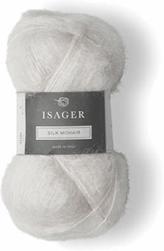Isager Silk Mohair E0 (Raw White)